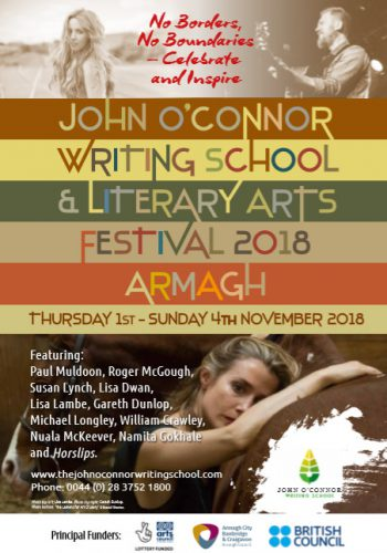 Armagh Literary Scene Presents…